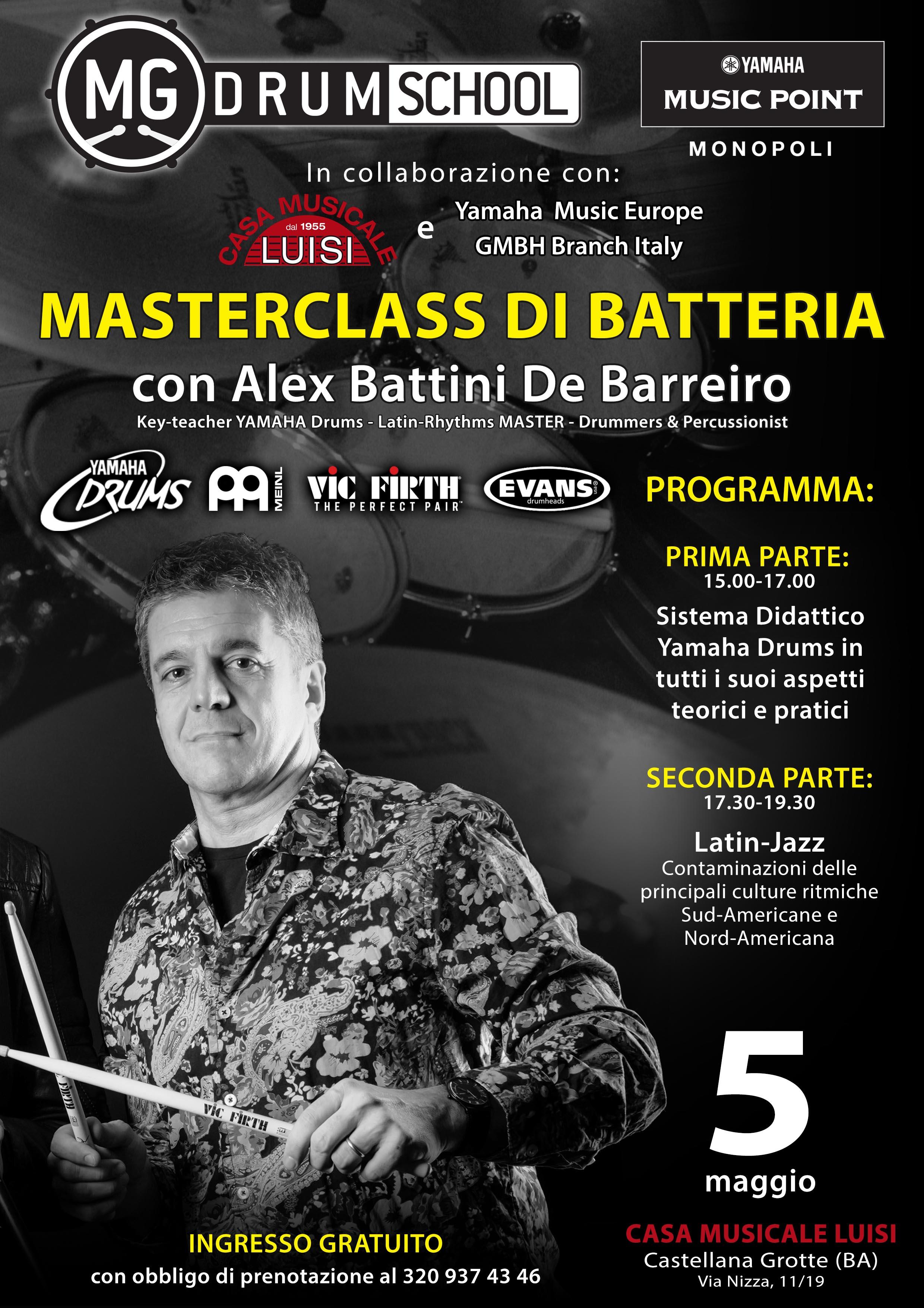 Master Yamaha - Alex Battini 2018 - Alta